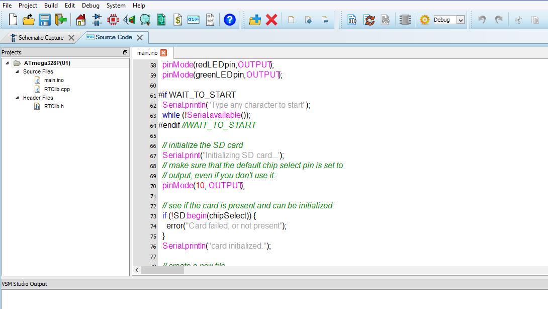 Arduino Simulation & Flowchart Programming - Proteus Design Suite