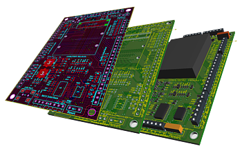 Professional PCB Layout tools for educational use.
